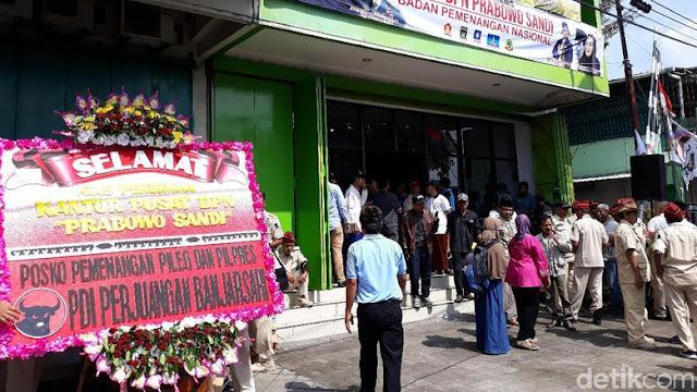 BPN Prabowo ke Moeldoko soal Posko: Solo NKRI, Masa Tak Boleh Kampanye?