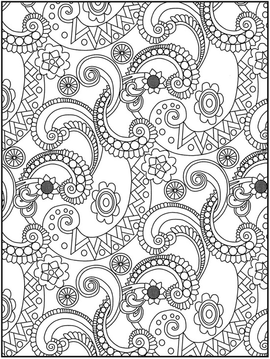 complex design free coloring pages | Coloring Pages – Fun For The Kids! - Minnesota Miranda