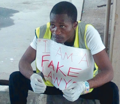 fake lawyer arrested lagos court