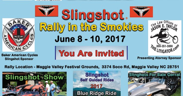 Slingshot For Sale Tennessee >> Ghost Riders Leather : Slingshot Rally In The Smokies