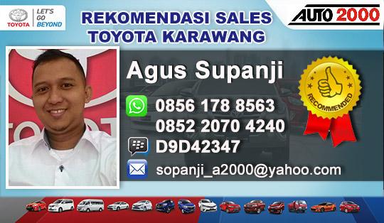 Rekomendasi Sales Toyota Karawang