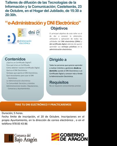 e-Administración y DNI Electrónico