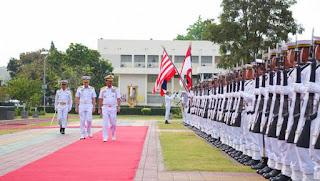 KSAL Melaksanakan Kunjungan Kehormatan ke Thailand