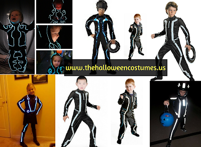 Tron Halloween Costume for kids & teens 2016