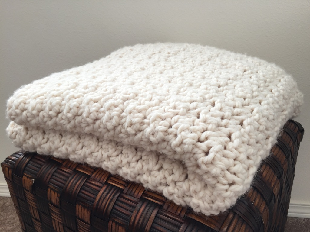 My First Crocheted Blanket