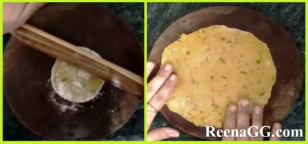 मसाला खाखरा रेसिपी (vidhi) - Masala Khakhra Recipe in Hindi