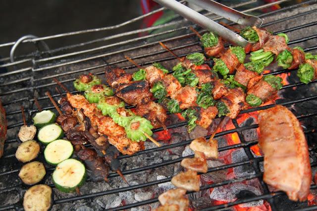 Grilled Skewered Food in Sapa 2