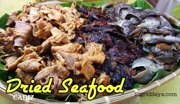 Cadiz City dried seafood