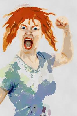 melepaskan kemarahan