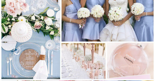 Serene Spring: How to Create a Rose, Blue, and White Spring Wedding