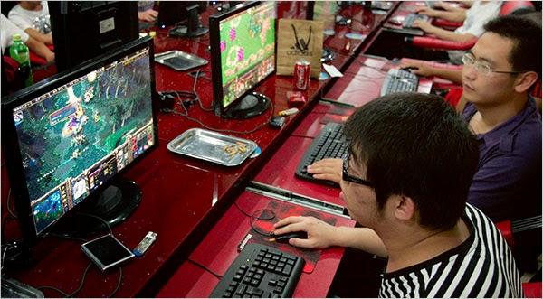 Efek bermain game online
