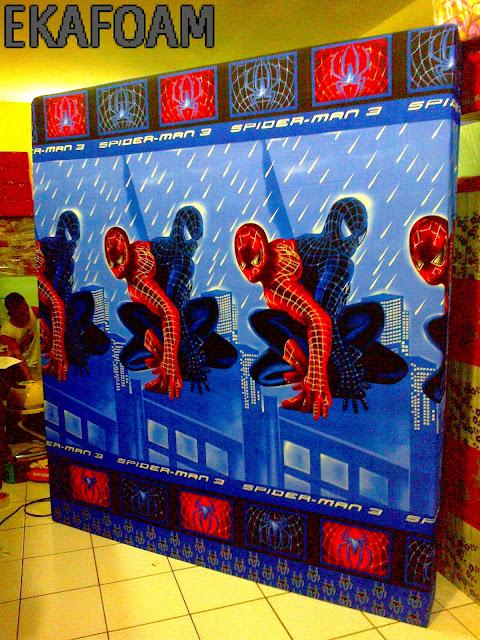 kasur inoac motif spiderman