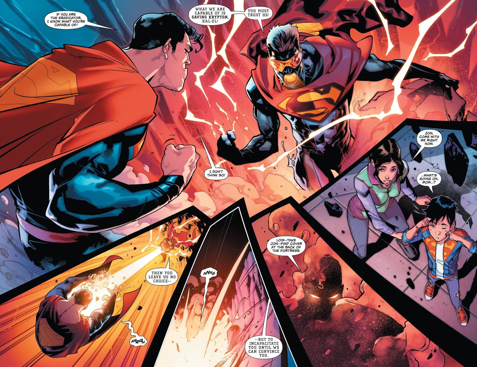 La habitaci n n 26 superman rebirth de peter j tomasi y for Puerta wonder woman