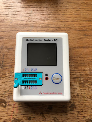 "Der ""Hosentaschen-Tester"" TC1. Multifunktionstester TC1"