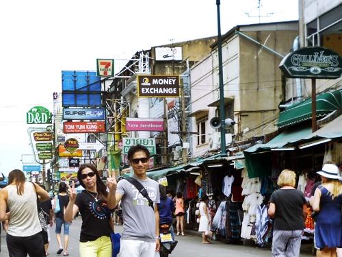 KhaosanRoad 2016 バンコク カオサン通り