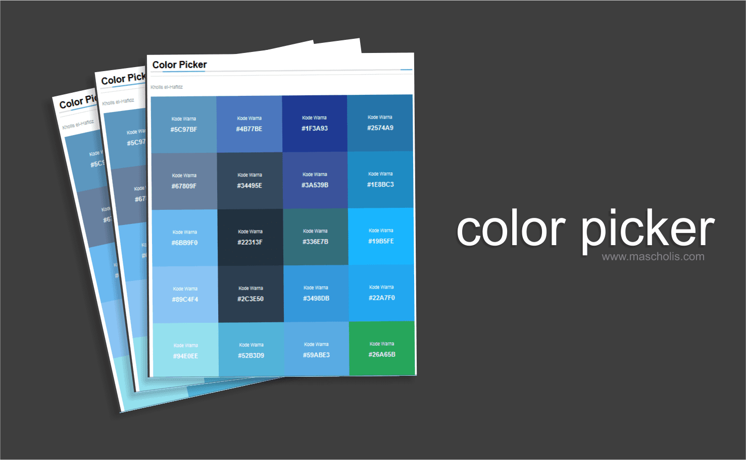 Cara Membuat Color Picker Responsive