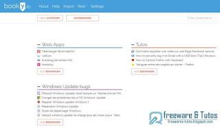 5 nouveaux services de bookmarking : Booky.io