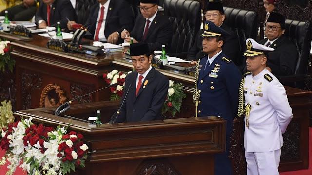 Pidato Jokowi Jelang HUT RI; Rakyat Diajak Beban Negara Pikul Bersama