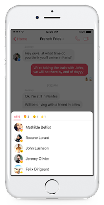 """فيس بوك ماسنجر يدعم المنشن و ردود الفعل للمحادثات""""ازاى اعمل منشن"""