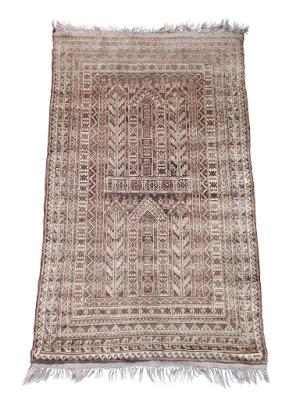 Antico tappeto afgano - secolo XIX