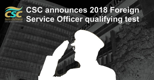 List of Qualification 2018 Foreign Service Officer qualifying test