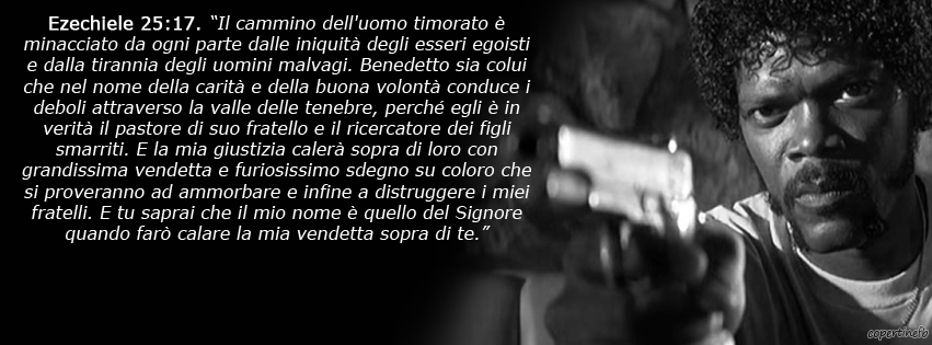Pulp Fiction Frasi.Copertine Facebook Pulp Fiction