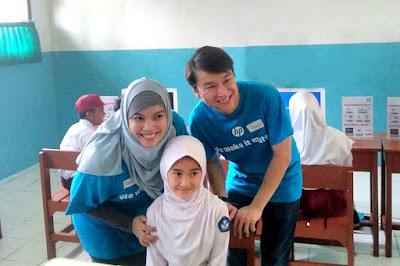 Program Sahabat Pendidikan Peduli Sekolah, Guru dan Siswa Dari HP