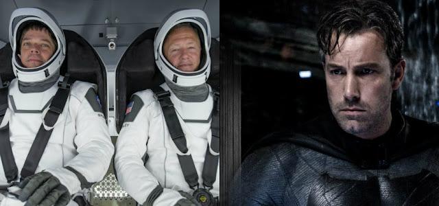 Figurinista de Batman vs Superman criou os trajes de astronauta da SpaceX