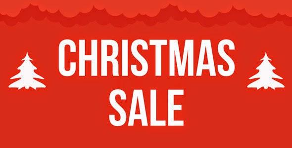 Christmas Sale Marketing Template