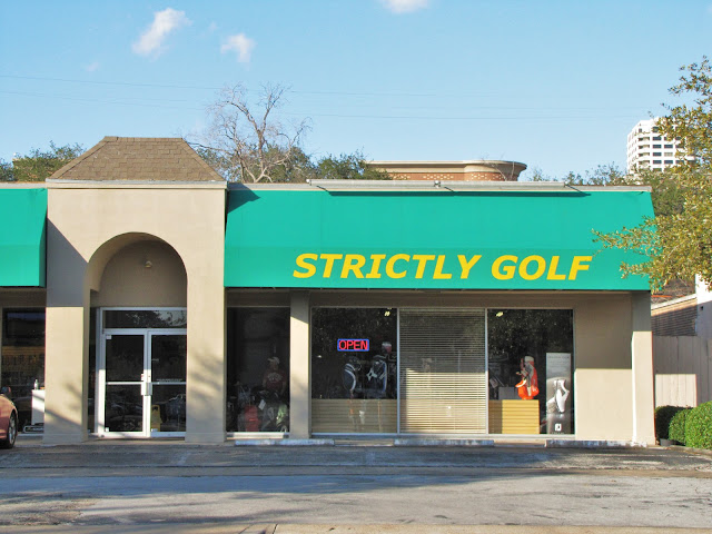 Strictly Golf store front in January 2012 (archival photo)