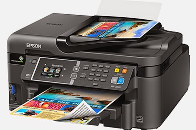 Epson WF-3620 Printer Driver