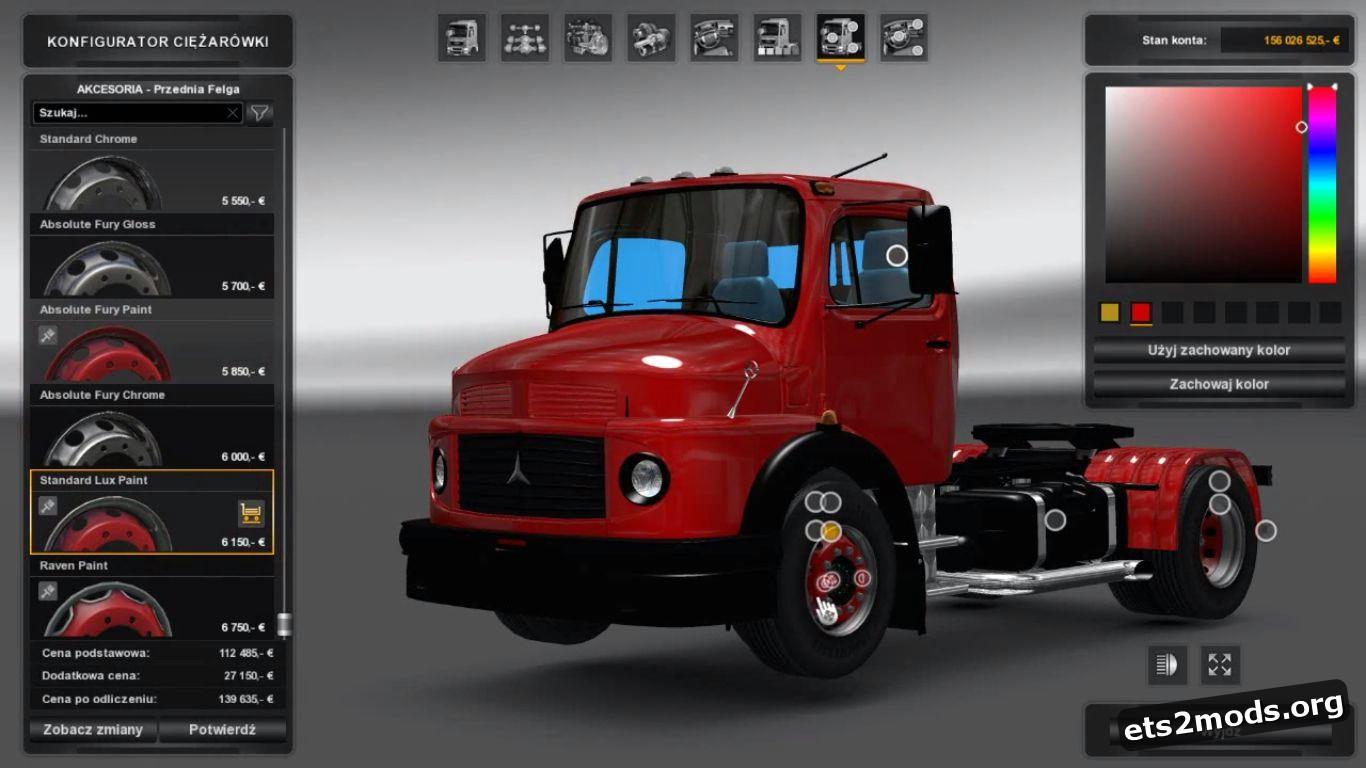 Truck - Mercedes Benz 1114 [1.26]