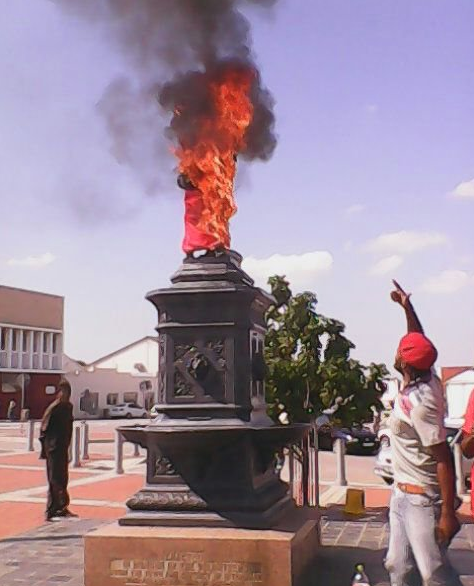 Monumental Vandalism in South Africa