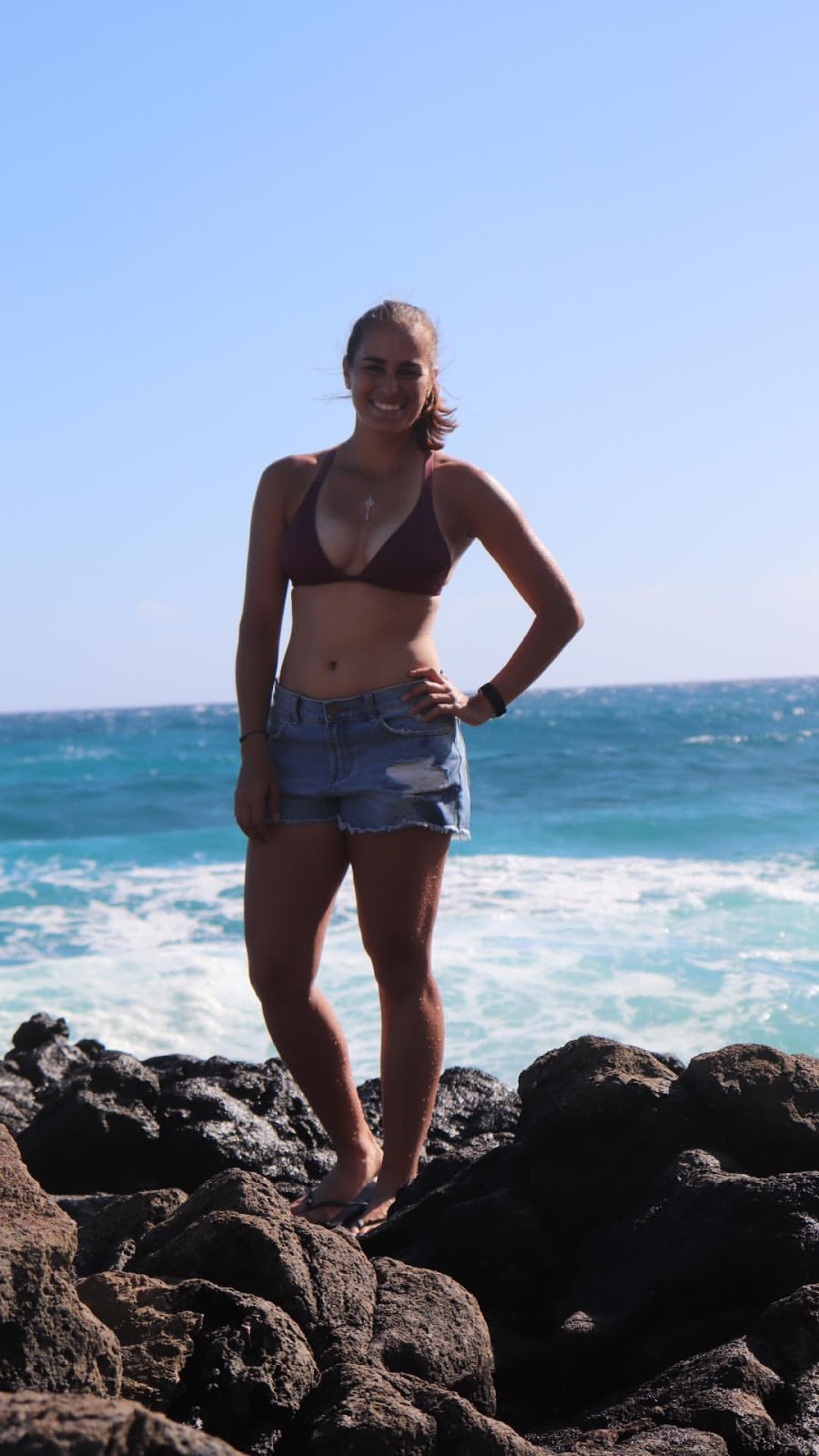 Monica puig beach