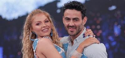 Luisa Sonza e Léo Santos na Dança dos Famosos; cantora presenteou professora com um carro zero km