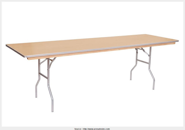 Simple 8 Foot Folding Table Wall Picture