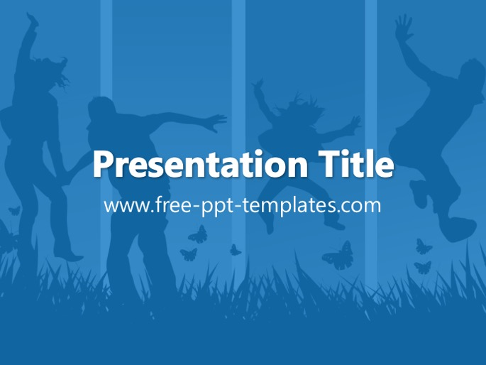 Youth ppt template toneelgroepblik