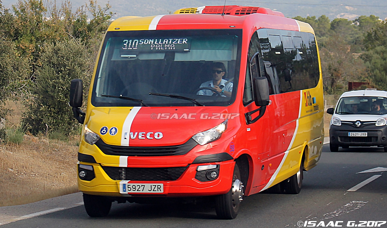 Camiones y autobuses en baleares n 58 ferqui sunrise iveco - Transporte islas baleares ...