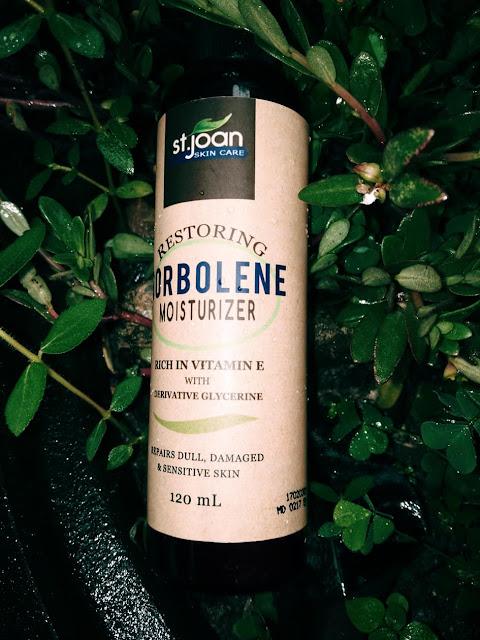 sorbolene moisturizer