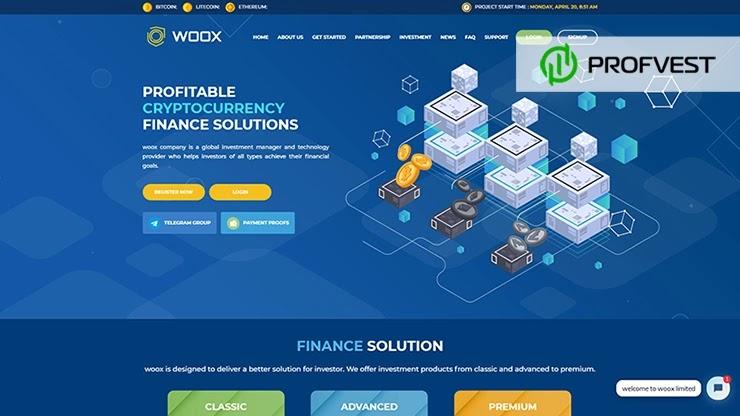 Woox Limited обзор и отзывы HYIP-проекта