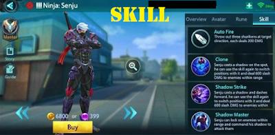 Guide Menggunakan Hero Senju di ShellFire Biar Jago
