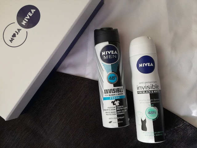 Nivea Antyperspirant Invisible for Black & White Fresh