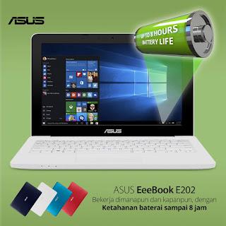 Mau Kerjaan Lebih Produktif Dan Kreatif, Pakai Notebook ASUS E202 aja!