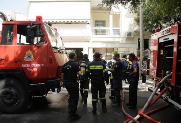 Τραγωδία στη Θεσσαλονίκη – Γυναίκα κάηκε ζωντανή