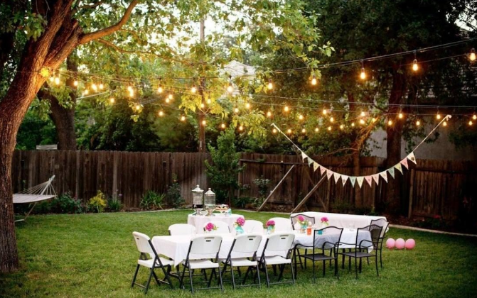 Small Outdoor Backyard Wedding Ceremony Ideas