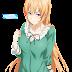 Tags: Render, Blonde hair, Cleavage, Dress, Large Breasts, Long hair, Nakiri Erina, Shokugeki no Souma