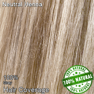 Neutral Henna on Grey Hair