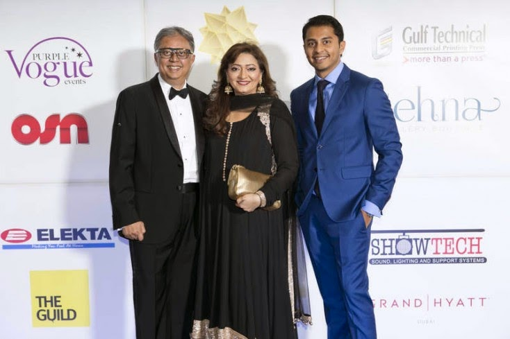 Yogesh, Falguni and Rohan Mehta, Masala! Awards 2014 Photo Gallery