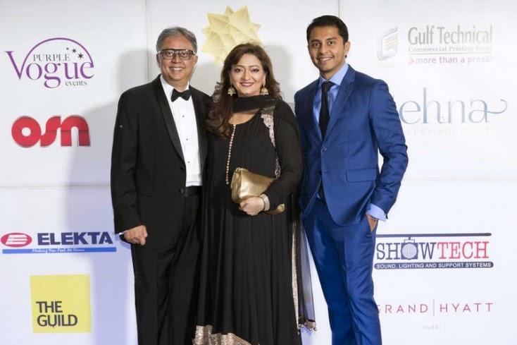 Yogesh, Falguni and Rohan Mehta, Masala! Awards 2014 Photo Gallery