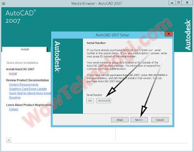 Cara Menginstall AutoCad 2007 Lengkap Gambar